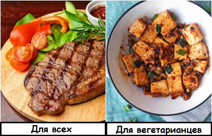 Тофу создают из соевого молока