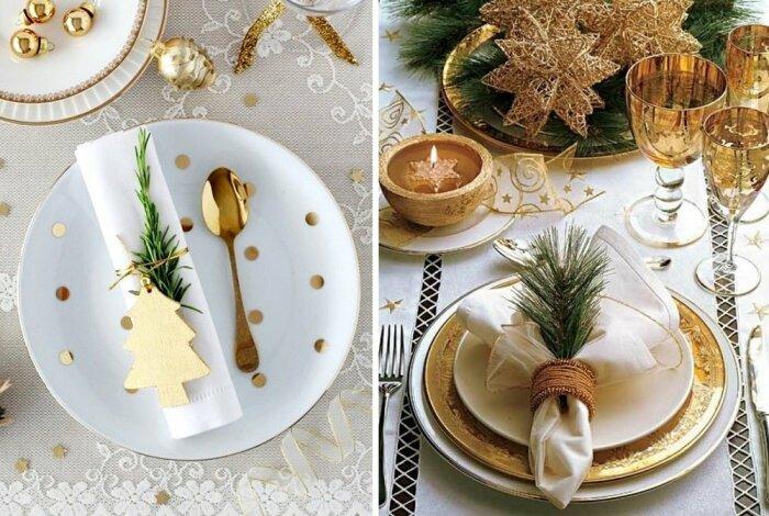 Идеи праздничной сервировки стола. / Фото: namenu.ru