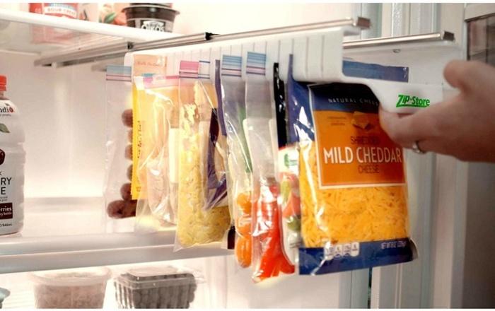 Zip-пакеты занимают много места в холодильнике или шкафчике. / Фото: news24.pro