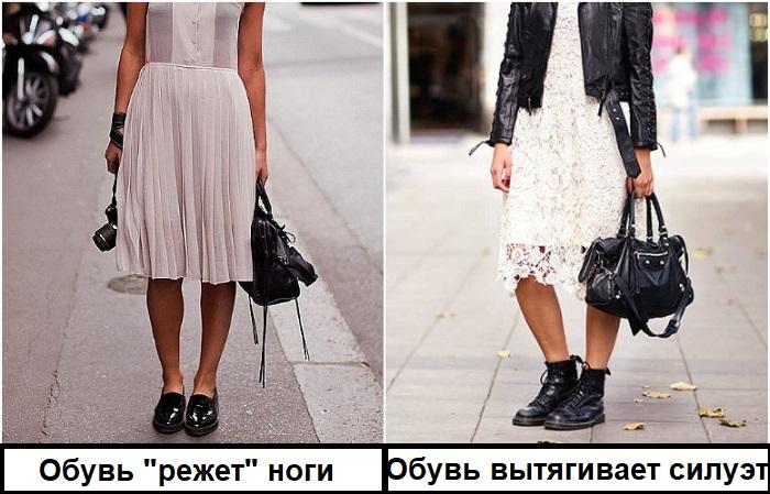 Ботинки должны быть выше щиколотки