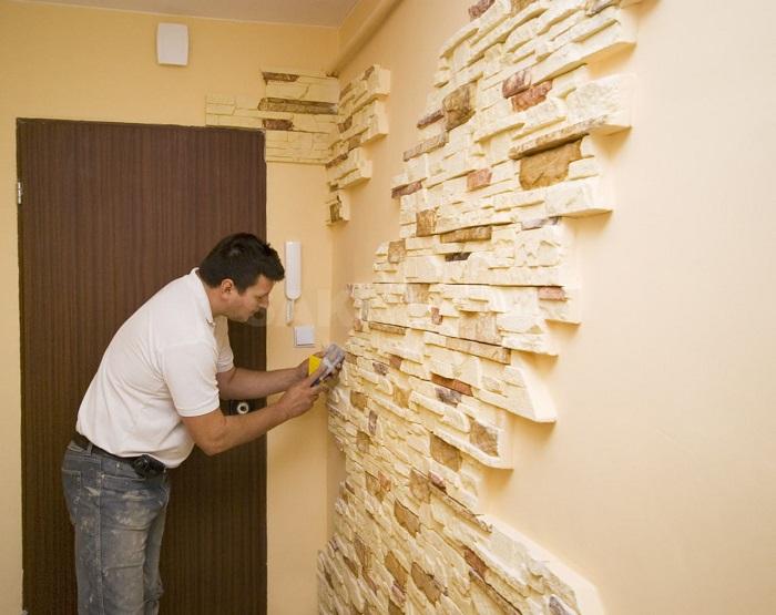 Мужчины в России могут полностью отремонтировать квартиру самостоятельно. / Фото: olksland.net