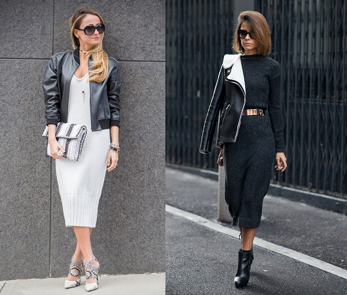 Платья миди снова вошли в моду. / Фото: optistore.ru