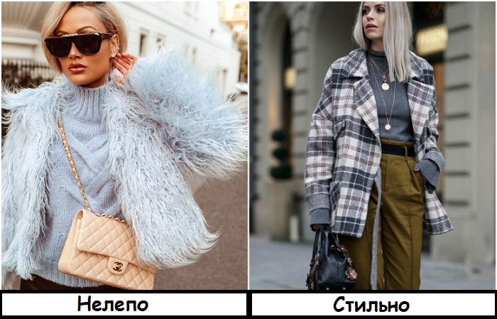 Сейчас в моде не куртки в перьях, а модели по типу рубашек