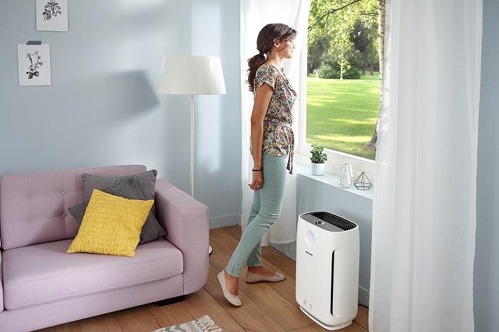 Очиститель воздуха продлевает чистоту в доме