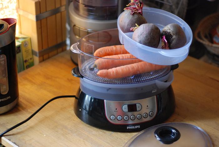 В пароварке можно готовить только диетические блюда. / Фото: pinterest.ru