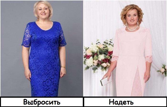 Вместо платья с гипюром выбирайте модель с кружевом