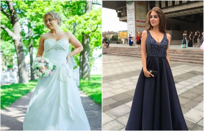 Свадебное и вечернее платье редко надевают больше двух раз