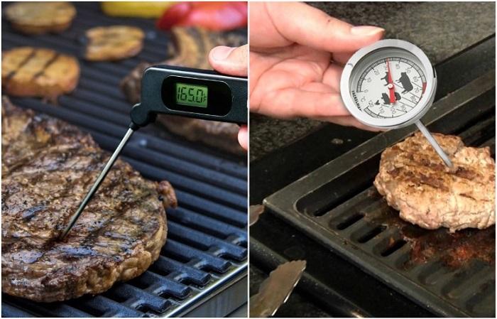 Термометры для мяса бывают разных видов