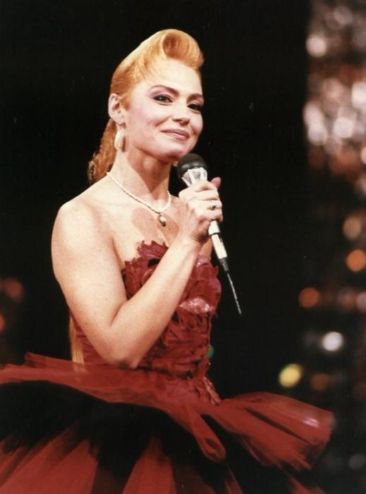 Ирина Понаровская на «Песне-88». / Фото: osv-tv.ru