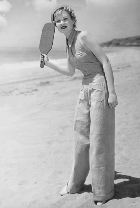 Модные брюки 1930-х годов. / Фото: pressa.tv