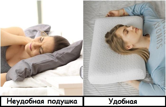 Ортопедическая подушка улучшит сон и самочувствие