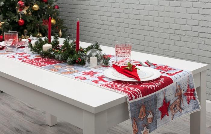 Новогодняя дорожка создаст праздничное настроение. / Фото: private-comfort.ru