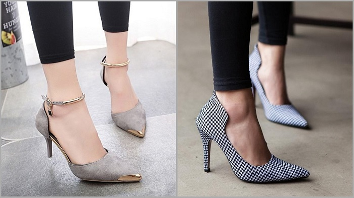 Туфли с узким носком помогут вытянуть силуэт и сделают вас стройнее. / Фото: ratatum.com