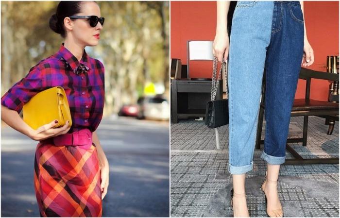 В современном модном образе может сочетаться несколько принтов и цветов