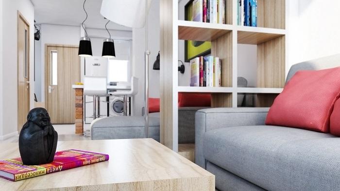 В квартире все должно располагаться так, чтобы вам было удобно. / Фото: rekodesign.cz