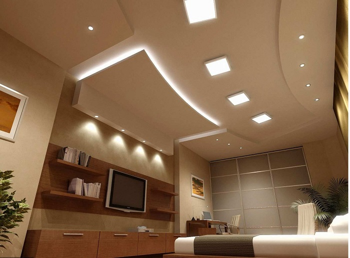 Гипсокартонные потолки не подходят для маленьких квартир. / Фото: remontcap.ru