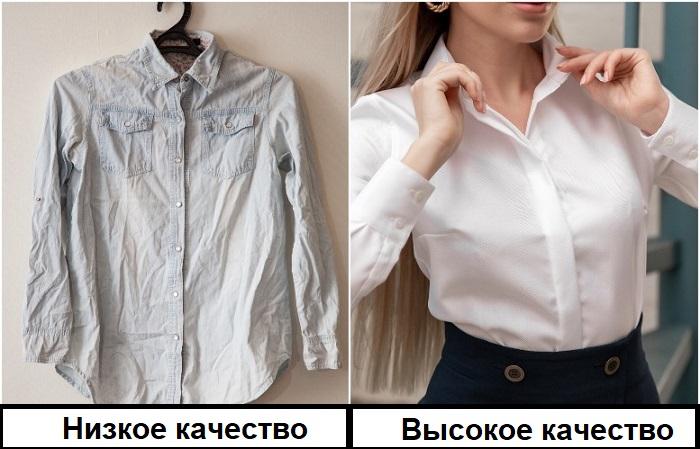 Рубашка из мнущейся ткани абсолютно непрактична