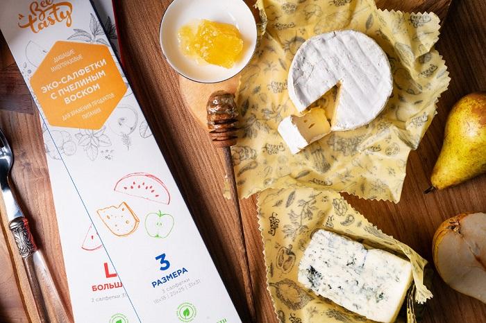 Восковые салфетки помогают сохранять продукты свежими. / Фото: followeco.ru