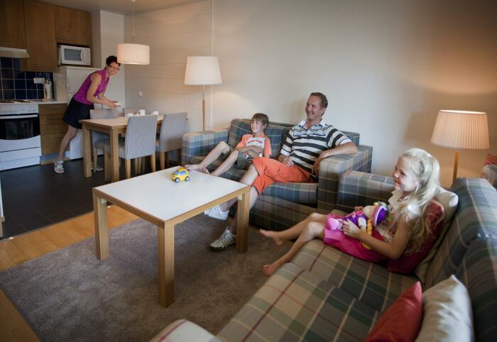 Одна комната для большой семьи - это мало. / Фото: wday.ru