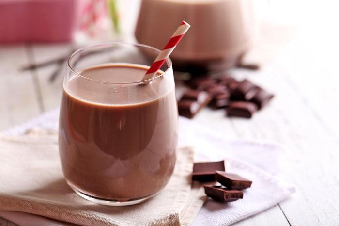 Шоколадное молоко идеально подходит для сладкоежек. / Фото: chocosite.ru