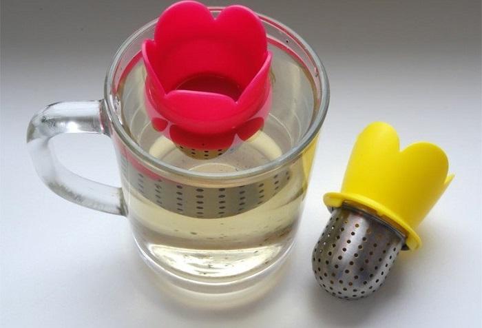 Полезное приспособление для фанатов чая. / Фото: dekoriko.ru