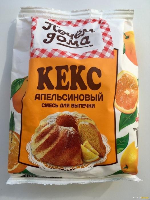Смесь для выпечки кекса. / Фото: spasibovsem.ru