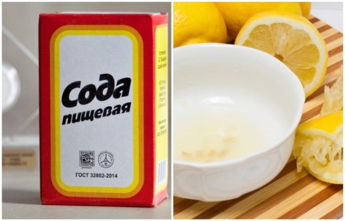Сода и сок лимона могут навредить коже, если используются не в составе профессиональных средств