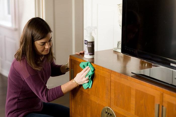 Антистатик сократит количество пыли. / Фото: house-help.info