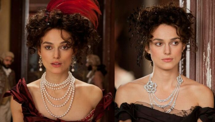 На Анне Карениной ювелирные украшения от Chanel. / Фото: startfilm.ru