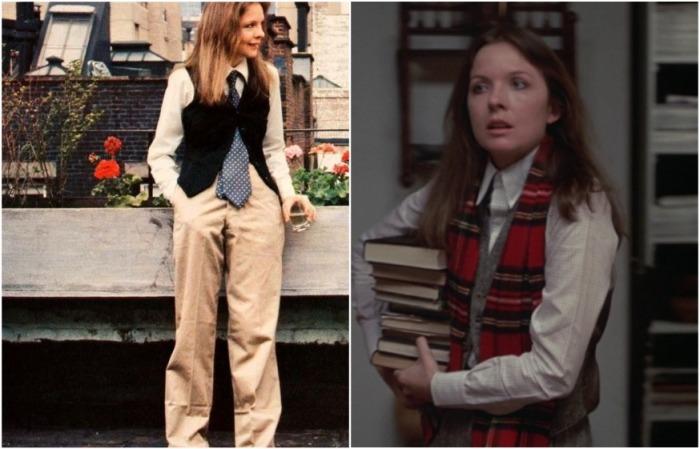 Киношный стиль Энни Холл был похож на стиль самой актрисы, которая ее играла