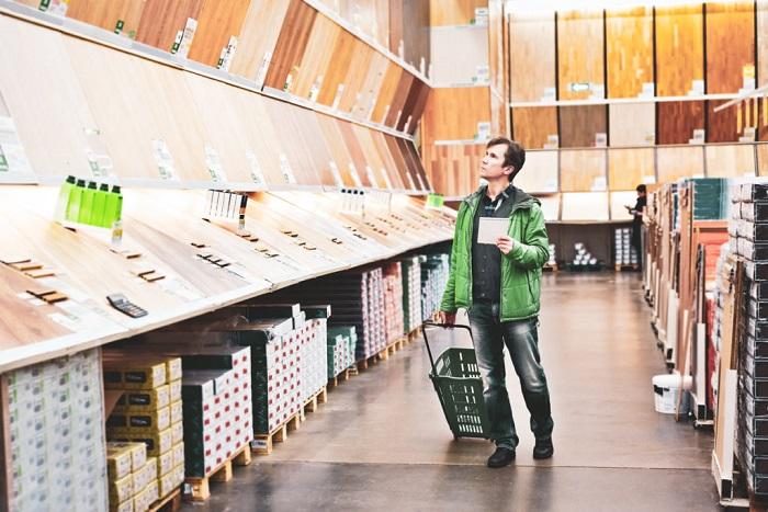 Покупать все материалы лучше в одном магазине. / Фото: pinterest.ru
