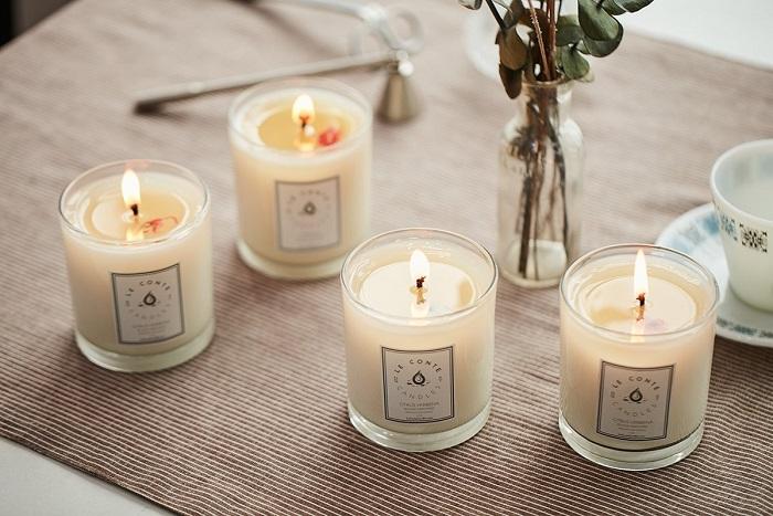 Ароматизированные свечи наполнят кухню приятными запахами. / Фото: pri-svechah.by