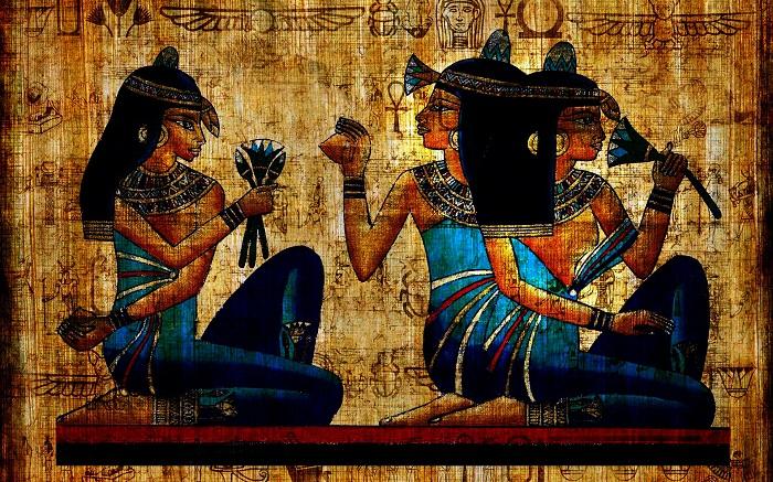 Египтянки любили ароматические масла. / Фото: tarotoday.ru
