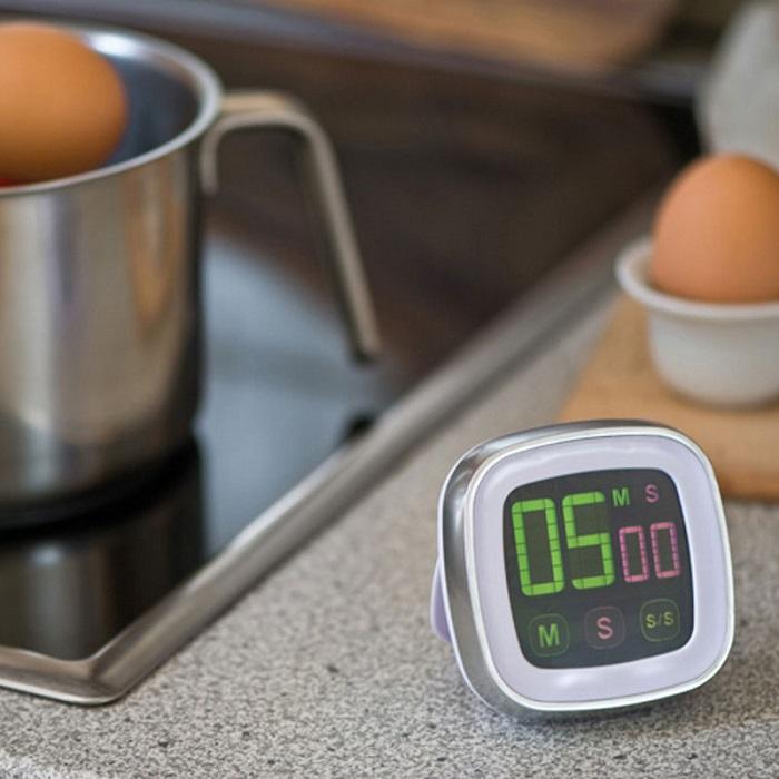 Таймер позволит контролировать процесс готовки. / Фото: bergamo.ua