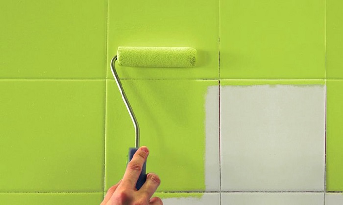 Фартук можно покрасить в яркий зеленый цвет. / Фото: terracotta.by