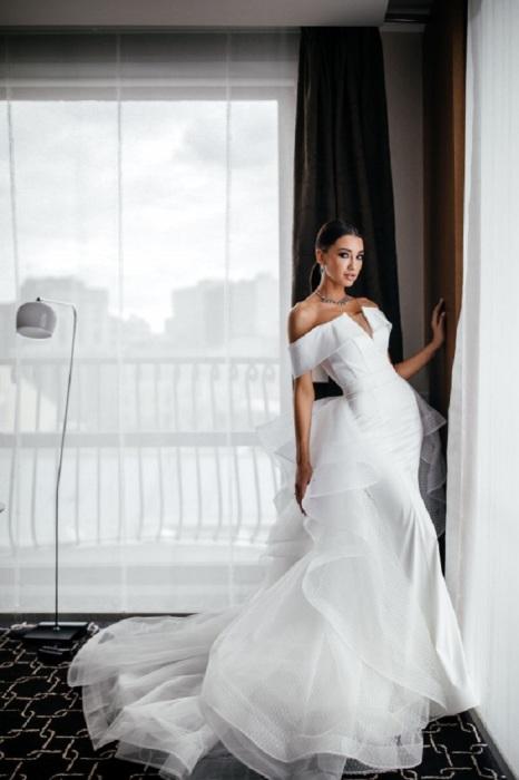 Свадебное платье-трансформер из салона «Мэри Трюфель». / Фото: top15moscow.ru