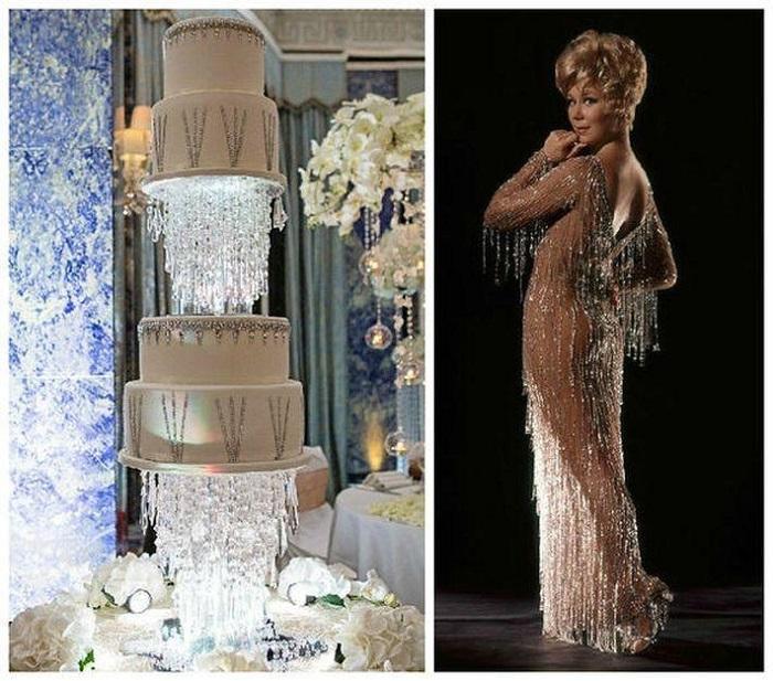 Свадебный торт Кэрри Брэдшоу за 32 000 $. / Фото: unnw.ru