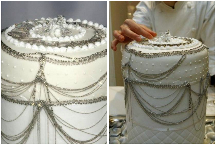 Торт для ювелирного салона – 130 000 $. / Фото: villagrazia.ua