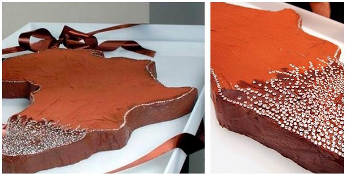Торт «Африка» с бриллиантами – 5 000 000 $. / Фото: top10a.ru