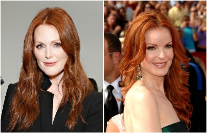 Ученые говорят, что рыжеволосые женщины выглядят моложе