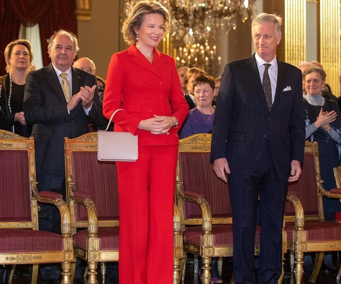 Королева Бельгии Матильда. / Фото: tsn.ua