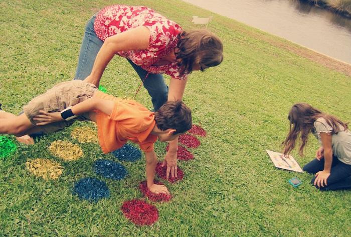 Твистер можно нарисовать краской из аэрозолей. / Фото: idealista.com