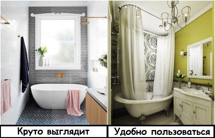Для ванны нужна круговая штора