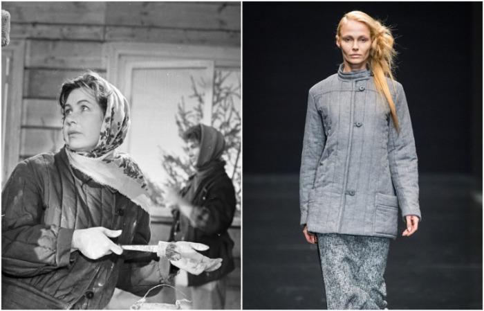 В СССР стеганая куртка была рабочей одеждой, а сейчас – и в пир, и в мир