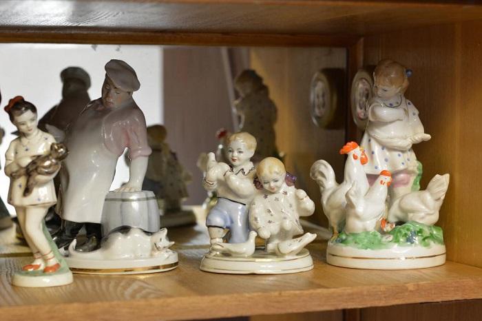 Советские статуэтки не являются украшением интерьера. / Фото: vcatuva.ru