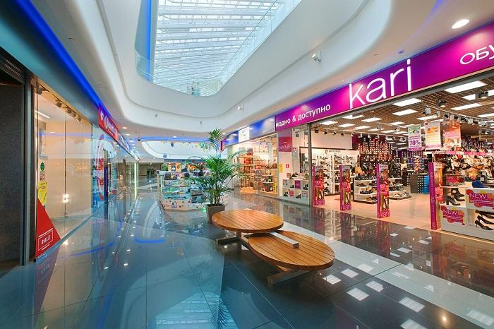 В торговых центрах много товаров, которые вы захотите купить. / Фото: vodny-mall.ru