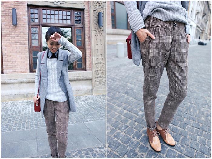 Шерстяные брюки станут незаменимыми, если у вас строгий дресс-код. / Фото: warmdress.ru