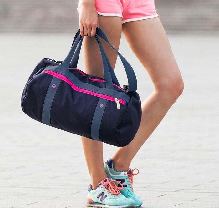 Спортивная сумка должна быть легкой и комфортной. / Фото: yandex.kz