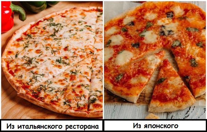 Пицца в итальянском ресторане будет вкусной, а в японском - вряд ли