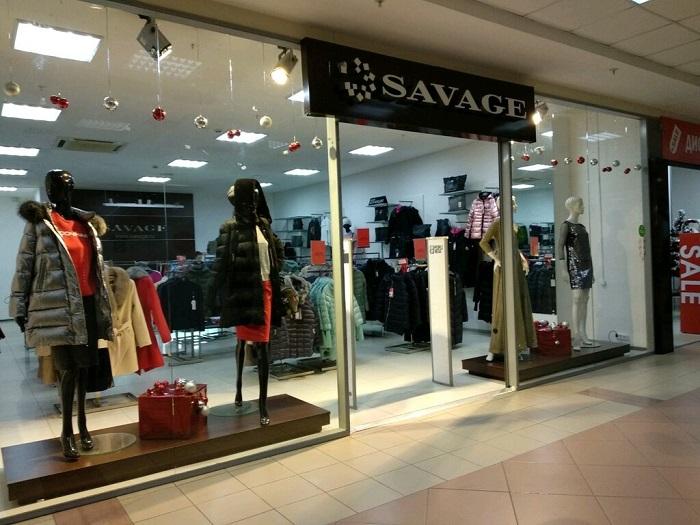 Savage предлагает клиентам большой ассортимент одежды для всех возрастов. / Фото: zen.yandex.ru
